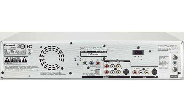 Panasonic DMR-ES30VS Combination DVD recorder + HiFi VCR at