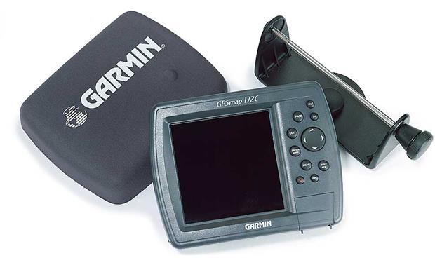 Garmin GPSMAP 172C Marine GPS chartplotter at Crutchfield.com on
