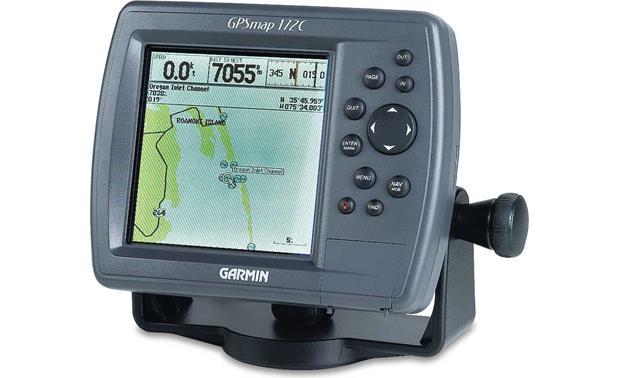 Marine GPS Chartplotter Garmin GPSMAP 172C Front