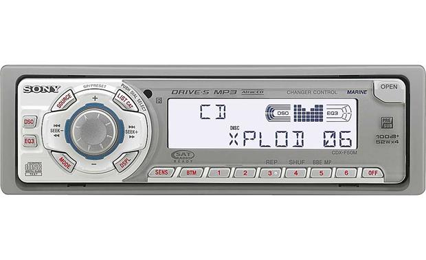 sony cdx f50m marine cd receiver with mp3 playback reviews at crutchfield