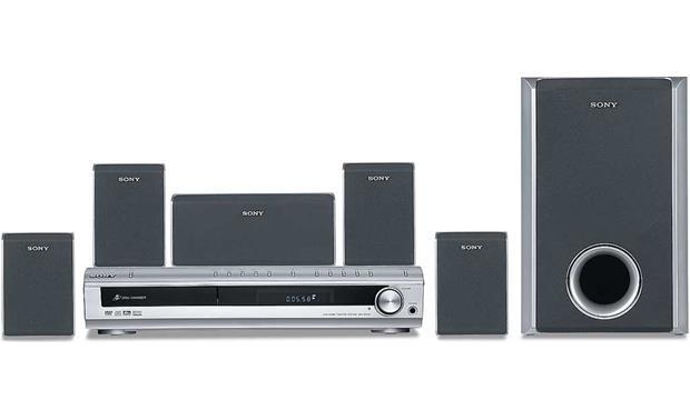 8be63ad6a9e Sony DAV-DX150 5-disc DVD home theater system at Crutchfield.com