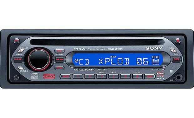 Sony cdx gt200 cd player with mp3 playback at crutchfield sciox Choice Image