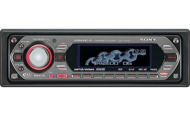 sony cdx gt500 cd player with mp3 wma playback at crutchfield com rh crutchfield com