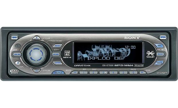 Sony cdx gt705dx cd player with mp3wma playback at crutchfield sony cdx gt705dx front publicscrutiny Images