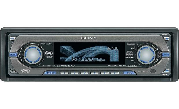 sony cdx gt805dx cd player with mp3 wma playback at crutchfield com rh crutchfield com Sony Gt260mp Sony R3000