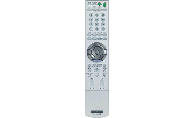 Sony KDL-V32XBR1 Remote <BR>(cover closed)