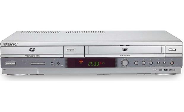 Sony SLV-D560P Combination DVD/CD player + HiFi VCR at Crutchfield