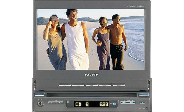 x158XAVA1 o sony xav a1 dvd receiver with retractable 7\