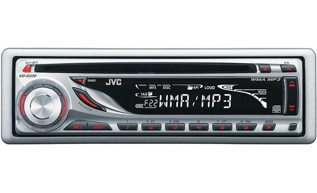 jvc kd g220 cd receiver with mp3 wma playback at. Black Bedroom Furniture Sets. Home Design Ideas