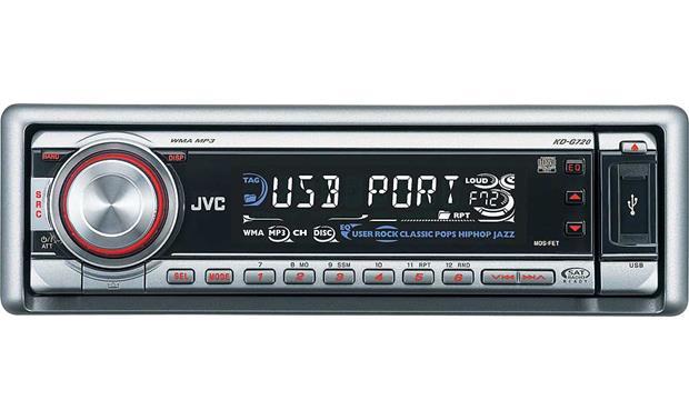 jvc kd g720 cd receiver with mp3 wma playback at crutchfield com rh crutchfield com User Manual JVC KD- X80BT User Manual JVC Arsenal