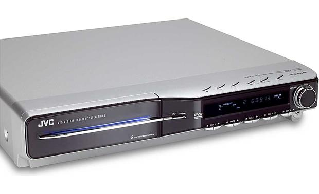 JVC TH-C5 DVD changer (angled)
