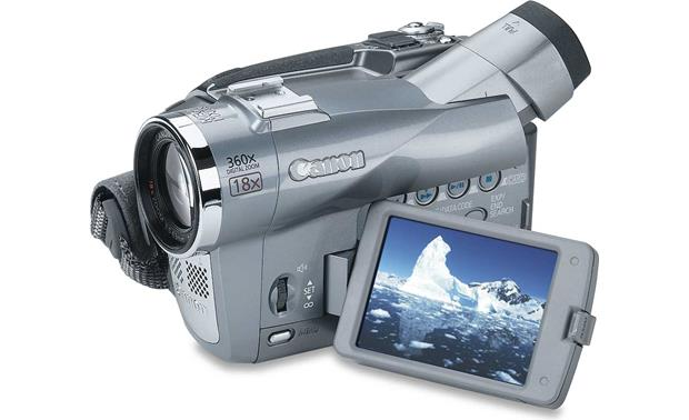 canon elura 80 mini dv digital camcorder at crutchfield com rh crutchfield com Canon Elura 100 Battery Canon Elura 100 Troubleshooting