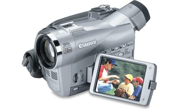 canon elura 85 mini dv digital camcorder at crutchfield com rh crutchfield com Canon GL2 Canon GL2