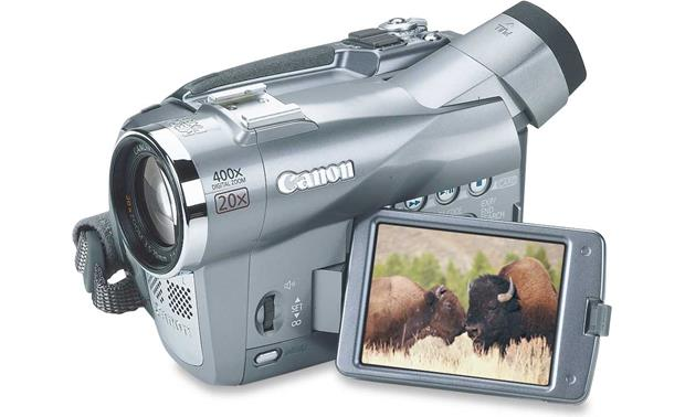 canon elura 90 mini dv digital camcorder at crutchfield com rh crutchfield com Canon Elura 100 Accessories Canon Elura 100 Accessories