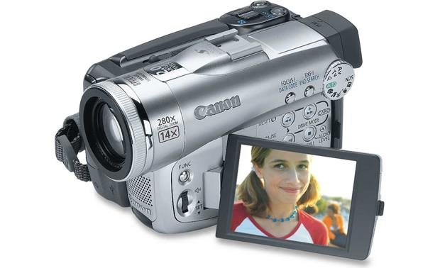 canon optura 60 mini dv camcorder at crutchfield com rh crutchfield com Canon Optura 20 Canon Vixia