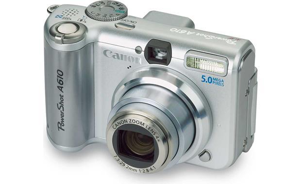 Canon PowerShot A610 Camera WIA Drivers Mac