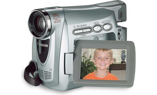canon zr200 mini dv digital camcorder at crutchfield com rh crutchfield com Digital Canon Camcorder ZR850 Canon ZR20