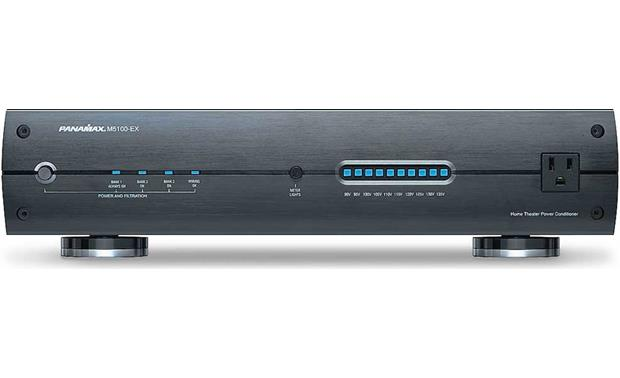 Panamax Max 5100 Ex Power Line Conditioner And Surge Protector At Crutchfield