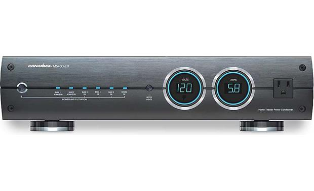 Panamax Max 5400 Ex Power Line Conditioner And Surge Protector At Crutchfield