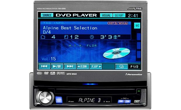 x500iVAD310 f alpine iva d310 dvd cd receiver with 7\