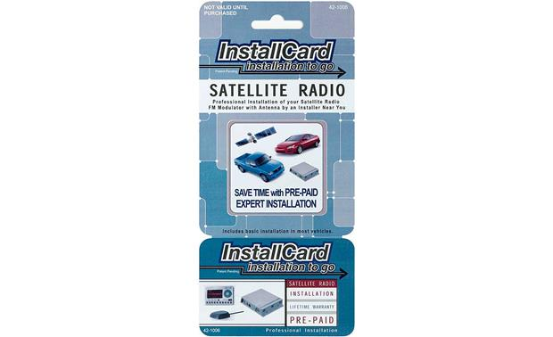 InstallCard: FM-modulated Satellite Radio Front