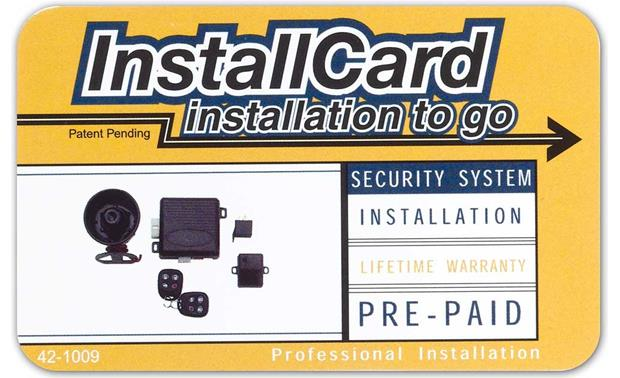 InstallCard: Security Front
