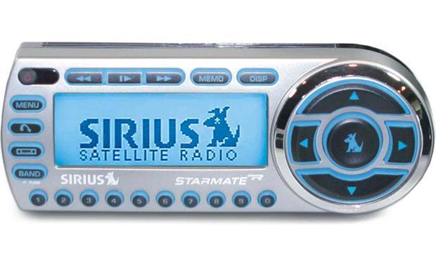 sirius starmate replay sirius satellite radio with car accessories rh crutchfield com Sirius Starmate 7 Review Sirius Starmate 2 Car Kit