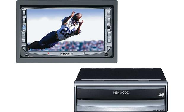 Kenwood DVD Player/Navigation Package Front