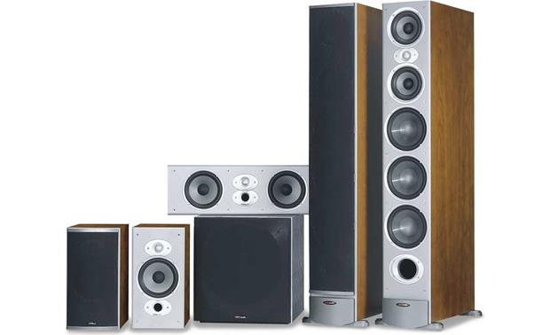home theater front speakers. polk audio rti series \u003cbr\u003ehome theater speaker system front home speakers e