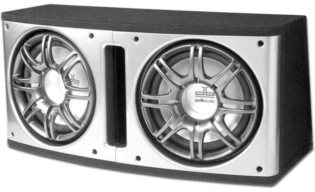 polk audio db212 2 enclosure with two 12 db subwoofers at. Black Bedroom Furniture Sets. Home Design Ideas