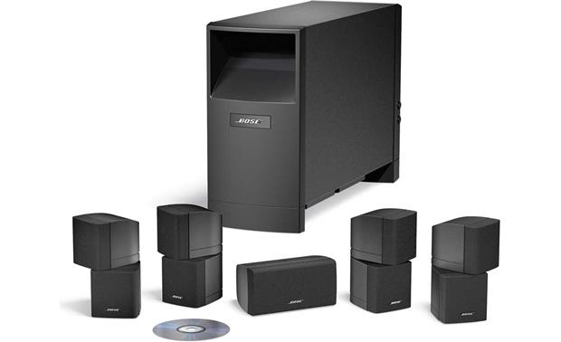 Bose® Acoustimass® 10 Series IV home entertainment speaker system Black