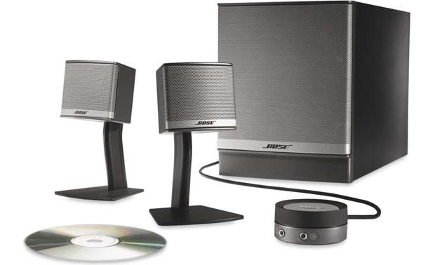 Bose® Companion® 3 Series II multimedia speaker system Front