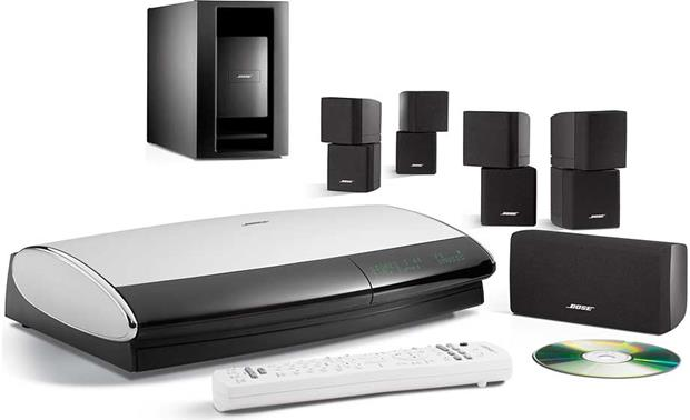 x018LS38S3B f bose® lifestyle® 38 series iii (with black speakers) dvd home