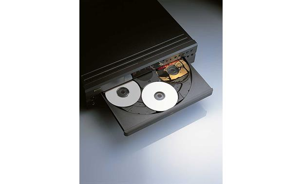 Denon DCM-390 Top view (tray open)