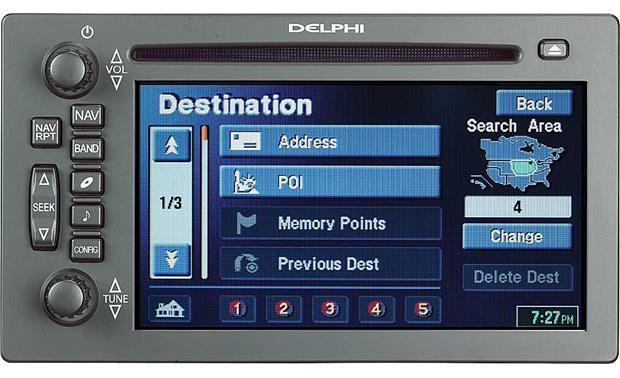 Delphi Tnr800 Indash Cd Playergps Navigation System For Select Rhcrutchfield: Buick Navigation System With Audio At Gmaili.net
