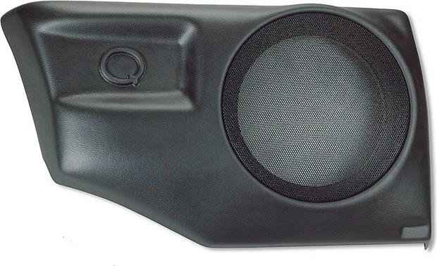Q-Customs Factory-fit Subwoofer Enclosures Black