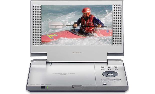 Toshiba sd-p1850 portable dvd player with 8-inch widescreen.