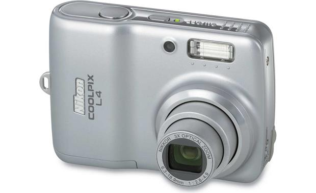 nikon coolpix l4 4 megapixel digital camera at crutchfield com rh crutchfield com Nikon Cool Pix Instruction Manual camara nikon coolpix l4 manual