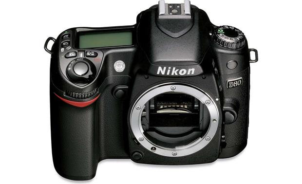 Nikon D80 (body only) Front