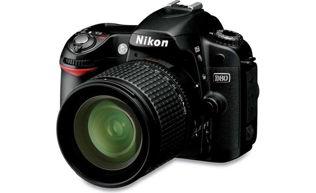 nikon d80 kit 10 2 megapixel digital slr camera with 18 135mm zoom rh crutchfield com Nikon D80 Battery Nikon D80 Service Manual
