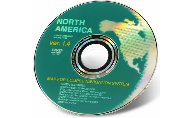 Eclipse Map Update Discs Replacement disc for your AVN5435 in