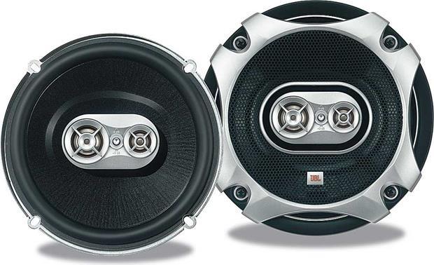Jbl Grand Touring Series Gto637 6 1 2 6 3 4 3 Way Car Speakers At