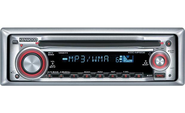 kenwood kdc mp202 cd receiver with mp3 wma playback at. Black Bedroom Furniture Sets. Home Design Ideas