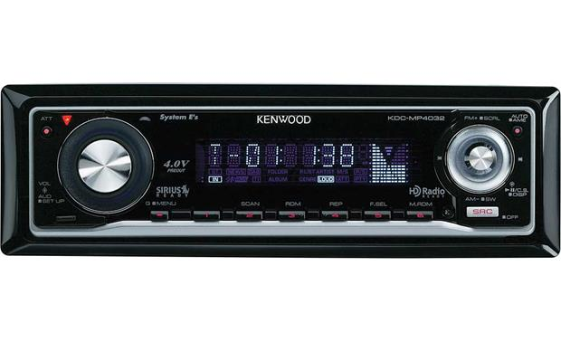 kenwood kdc mp4032 cd receiver with mp3 wma aac playback at rh crutchfield com Kenwood KDC- 152 Kenwood KDC- 138
