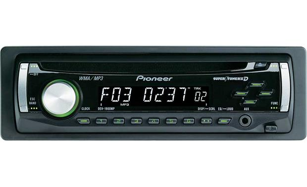 pioneer deh 1900mp cd receiver with mp3 wma playback