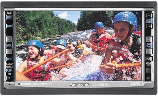 h133VD6503 panasonic cq vd6503u in dash dvd receiver with 6 1 2\