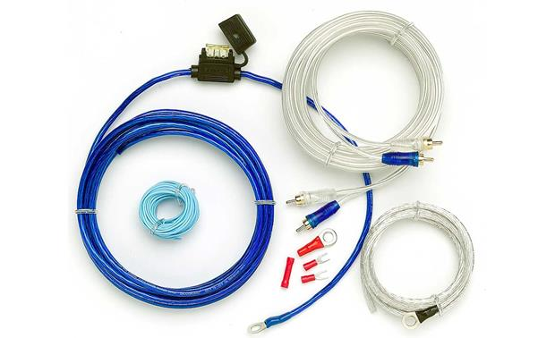 EFX 10-gauge Amplifier Wiring Kit Front