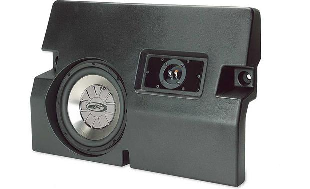 scosche custom fit subwoofer enclosure with 10 sub 2005. Black Bedroom Furniture Sets. Home Design Ideas