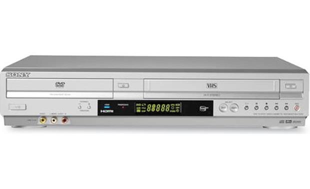 sony slv d570h dvd vcr combo with dvd upconversion and digital video rh crutchfield com JVC DVD Recorder VCR Combo Sony DVD Recorder Player Combo