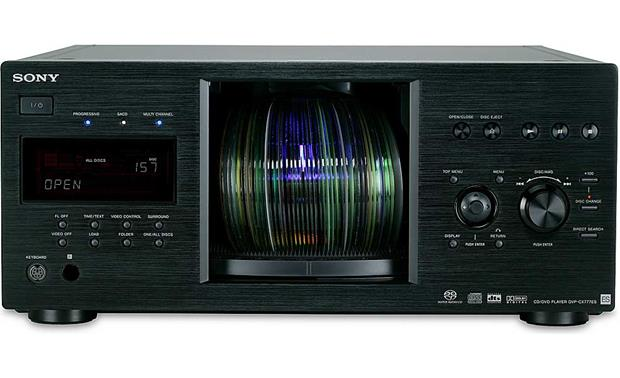 Sony ES DVP-CX777ES (Black) Disc door open